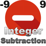 Integer Subtraction: -9 to 9